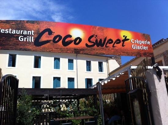 Coco Sweet: not a good guide to a really nice cafe/restaurant