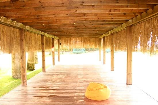 Crystal Tat Beach Golf Resort & Spa: bungalo for workout great for yoga
