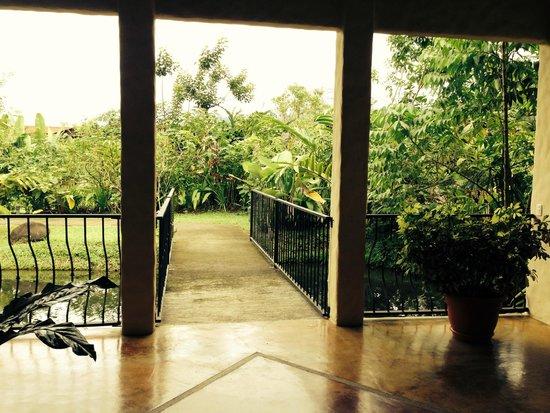 Casa Luna Hotel & Spa : entrance to spa