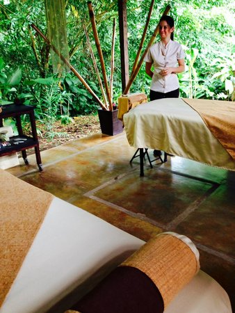 Casa Luna Hotel & Spa : Getting ready for couples massage