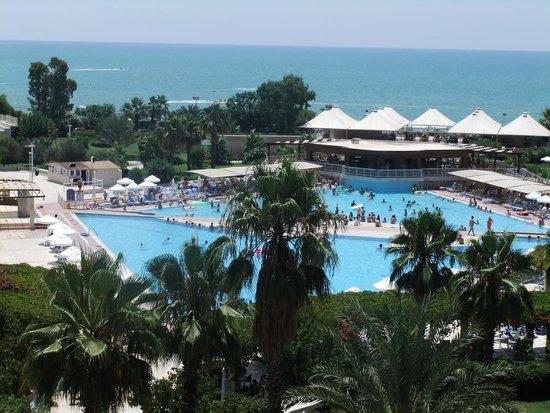 Hotel Riu Kaya Belek: view from hotel balcony