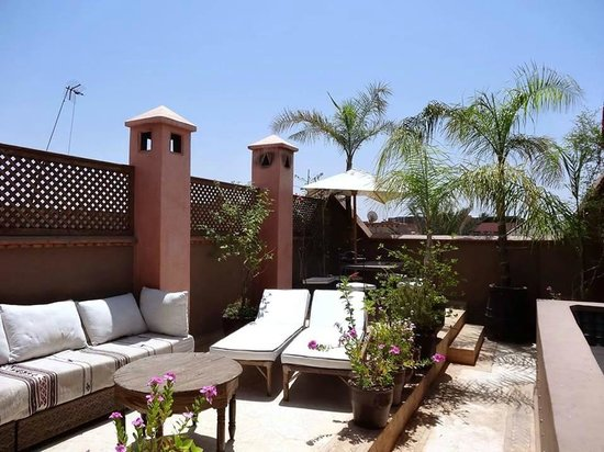 Riad Dar Zaman : The beautiful sun-terrace