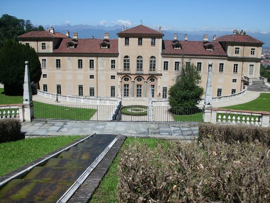 Villa della Regina : la villa con il suo panorama mozzafiato