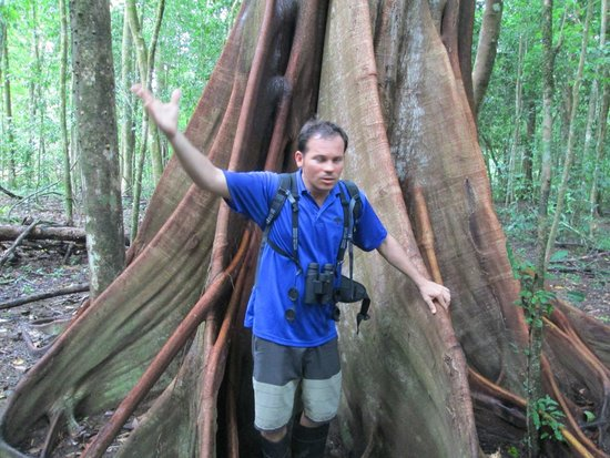 Copa de Arbol Beach and Rainforest Resort: Steven, our tour guide