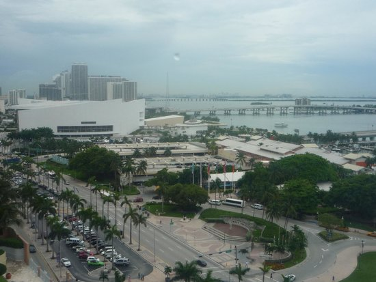 YVE Hotel Miami: Vue de la chambre