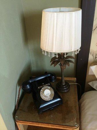 Burgh Island Hotel: Bedroom phone