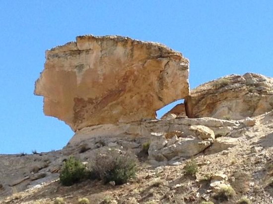Dinosaur National Monument: Balancing Rock