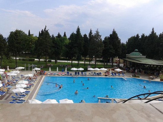 Sol Nessebar Palace : view from 1st floor