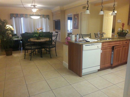 Westgate Lakes Resort & Spa : The Entire Main Room Kitchen, Dining, Living Room Areas!