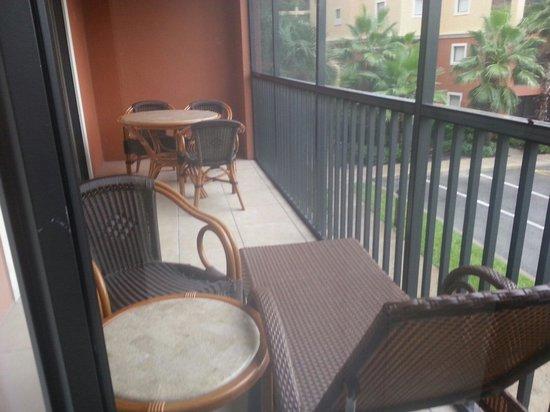 Westgate Lakes Resort y Spa: Patio!