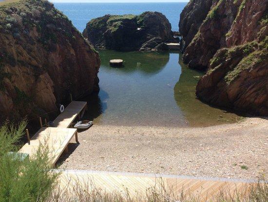 Burgh Island Hotel: Mermaid Pool