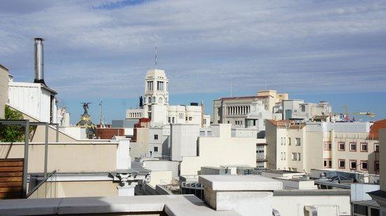 Iberostar Las Letras Gran Via : view from balcony