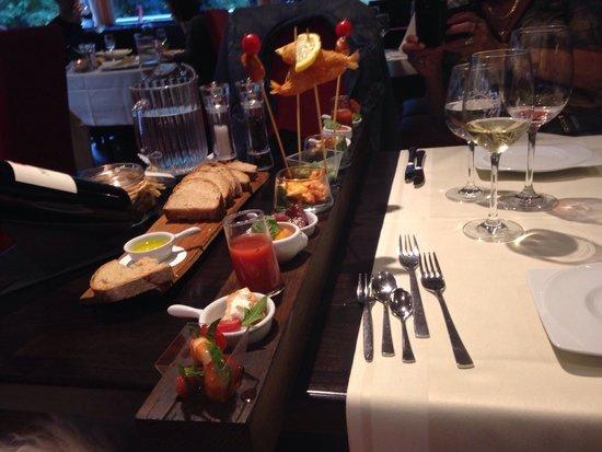 Restaurant Waldhaus: Meter Tapas