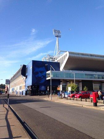 Portman Road Stadium: Stadium