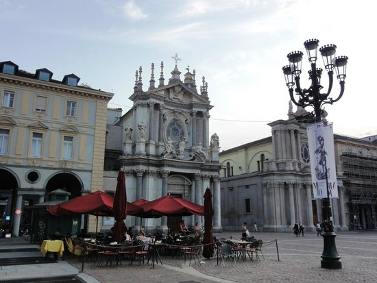 Piazza San Carlo : Piazza