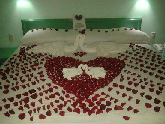 Hotel Castillo Huatulco Hotel & Beach Club : Primera arreglo