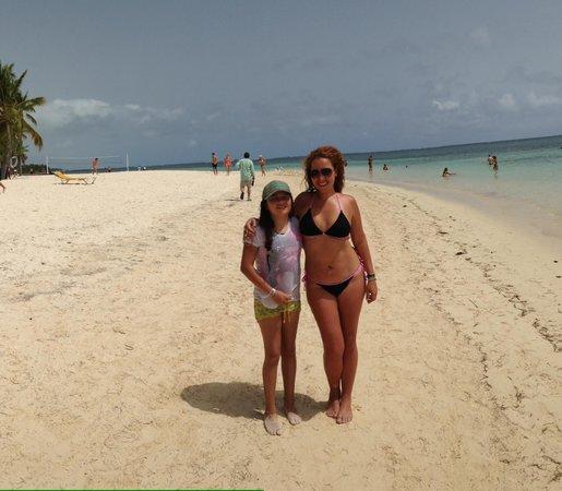 Catalonia Bavaro Beach, Casino & Golf Resort: Playa!