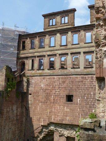 Schloss Heidelberg: Part of the castle ruin