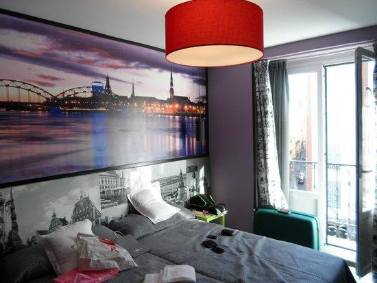JC Rooms Santo Domingo Hotel: Habitaciones ambientadas con países de Europa