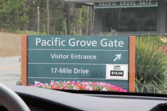 17-Mile Drive: Pacific Grove Gate