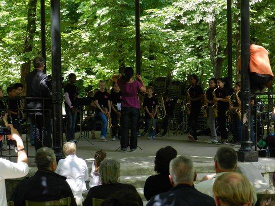 Jardin du Luxembourg : Os artistas da primavera