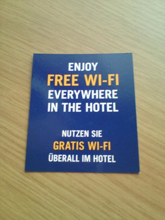 Novotel Berlin Am Tiergarten : Wifi .....