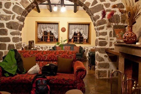 Hotel Samanapaq: le salon