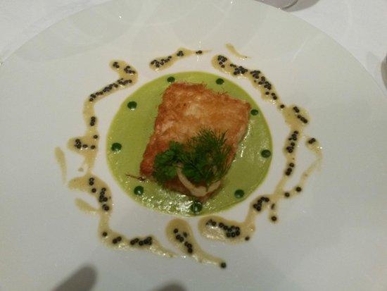 Guy Lassausaie : filet de fera au caviar