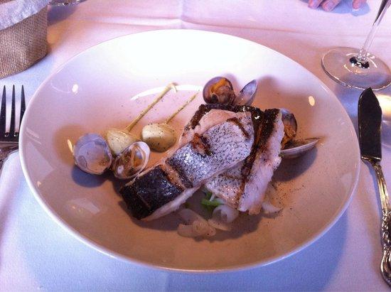 Restaurante Fishka : Merluza a la brasa