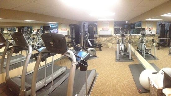 Greystone Lodge On the River : exercise room