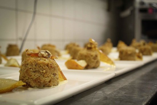 Morrison Hotel: Steamed Pudding with Praline