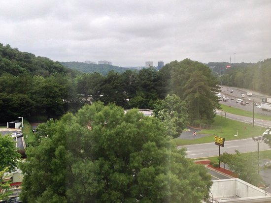 Wyndham Atlanta Galleria: Vista finestra sesto piano