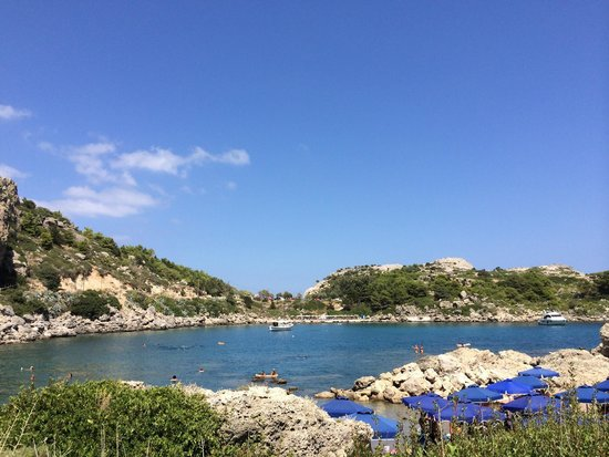 Anthony Quinn Bay : Piccola Oasi