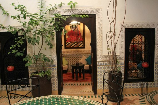 Riad Al Mamoune : Patio