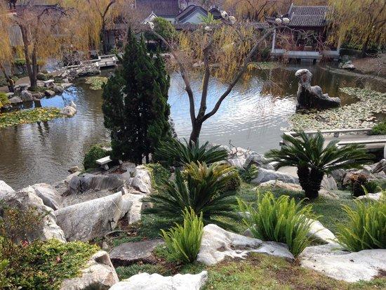 Chinese Garden of Friendship: Breathtaking views.