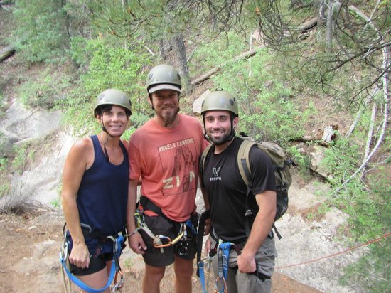 Zion Adventure Company: Freed, Jarrod(instructor) and Jacob