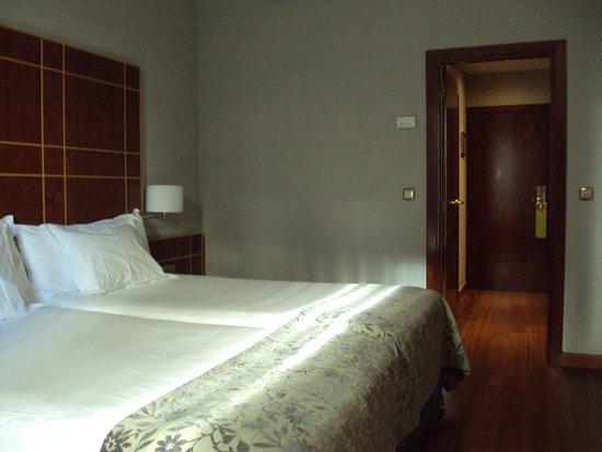 Silken Reino de Aragon Hotel: Habitación doble estándar.