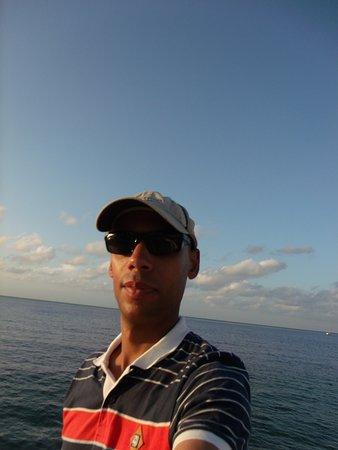 Hotel Plaza Cozumel: sea view