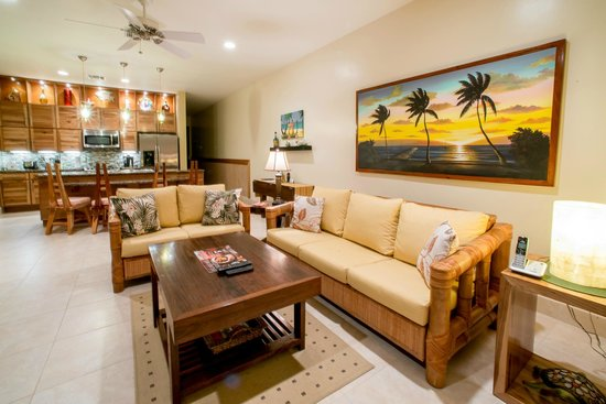The Phoenix Resort: The living room of one of our suites