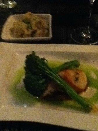 Aioli : Sea Bass Filet