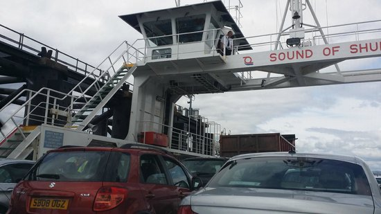 Hunters Quay Holiday Village: Car Ferry to Hunters Quay
