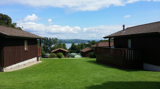 Hunters Quay Holiday Village: View from area around Lodges