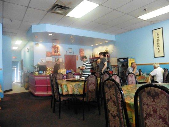 On Yuen Resturant : The front desk