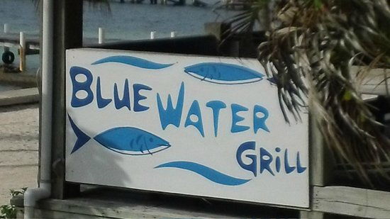SunBreeze Hotel : Entrance to Blue Water Grill (Awesome Food)
