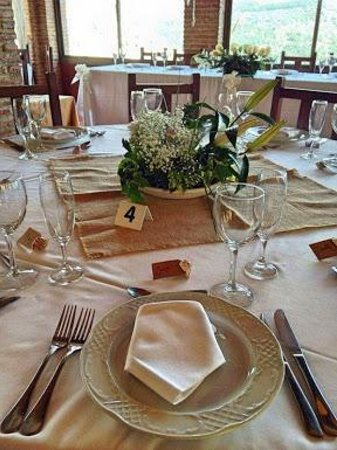 El Fogón de Flore: Mesa de boda