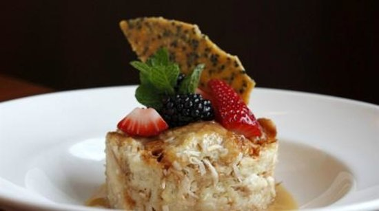 Artin's Grill: Coconut Sesame Bread Pudding