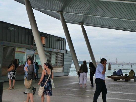 Hotel Villa Orio : Lido station - can see Venice