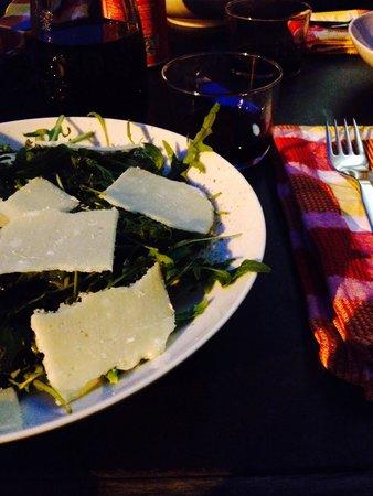Restaurante Casa D'Oro: Rucola mit Parmesan