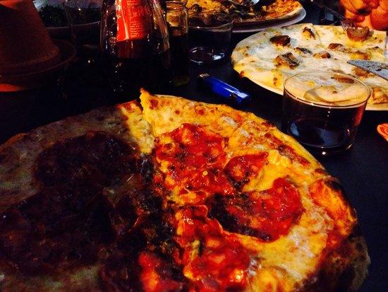 Restaurante Casa D'Oro: Pizzen