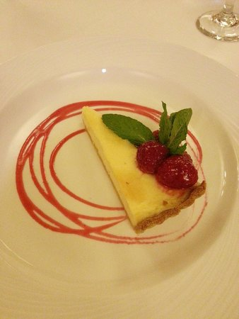 Inn on the Lake: The egg custard pie